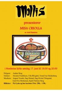 Misa Criolla plakat